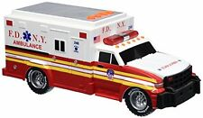 "Daron FDNY Motorized Ambulance with Light and Sound 11"" long"