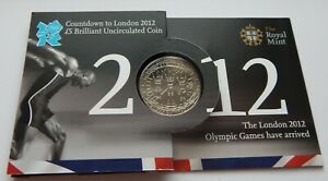 2012  OLYMPIC COUNTDOWN £5 COIN