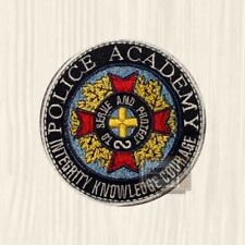 Police Academy Replica Patch Series To Serve & Protect Arm Shield Embroidered