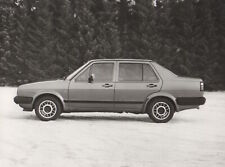 VW Jetta 'Carat' Mk2 Launch (A2) Large Format Period Press Photographs - 1984