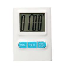 Minuteur Electronique de Cuisine avec écran Digital LED - Blanc