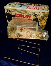 MARX CROW SHOOT AUTOMATIC TARGET GAME 1950'S COMPLETE BUT SLIGHT DAMAGE