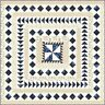 Regency Blues Quilt KIT + Quilt BOOK + Moda Fabric