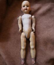 POUPEE ANCIENNE PETITE ARMAND MARSEILLE 390  /  26 cm porcelaine et composition
