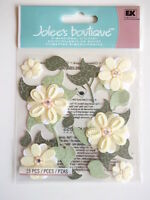 JOLEE'S BOUTIQUE STICKERS - CREAM BUDS flowers