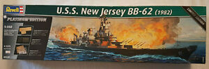 Revell 05129 USS New Jersey BB-62 (1982) Platinum Edition 1/350 Neu