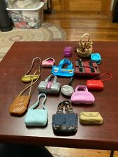 Barbie Doll Pocketbook Lot 15 Bags Used In Very Good Condition