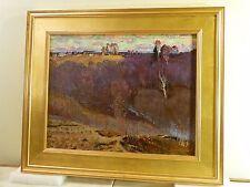 VINTAGE RUSSIAN MODERNIST OIL PAINTING Master Painter LISTED Leonid Rudnev