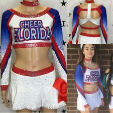 Cheerleading Uniform Rare  Allstar Cheer Florida Adult SM