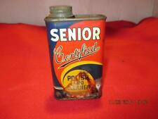 Vintage Senior Certified Polish And Cleaner Removes Traffic Film Chalk