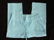 $58 aqua sweatpants Mimi Maternity NWT large