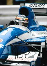 Thierry Boutsen SIGNED F1 Ligier-Renault JS37 , Monaco GP 1992