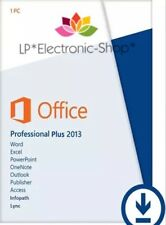 MICROSOFT OFFICE 2013 PROFESSIONAL PLUS 32/64 BIT ESD | FATTURA  | ORIGINALE