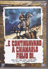 Dvd  E CONTINUAVANO A CHIAMARLO FIGLIO DI con Fabio Testi nuovo 1996