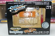 ERTL 1:64 Scale American Muscle BodyShop SMOKEY AND THE BANDIT POLICE CAR