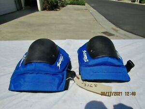 Smith Scabs Knee Pads New No Box XL Blue In Color