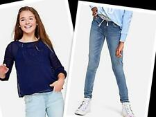 NWT Justice Girls Embroidered Peasant Top/Embellished Jeggings Size 8 10 12