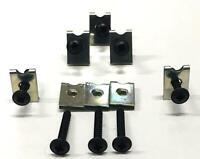 Spire Clips Car Speaker Door Panel Fixtures Fitting U Clips Self Tappers Screws
