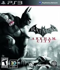 Batman: Arkham City  - Sony Playstation 3 Game