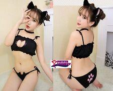 性感露乳綁帶可愛貓女郎制服   Sexy Cat Lingerie Cosplay