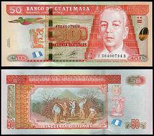 Guatemala 50 Quetzal (Pnew) 2012 (2014) UNC