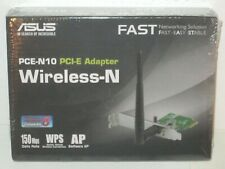 ASUS PCE-N10 PCI Express Wireless N Internal Adapter Card Retail Windows 10 8 7