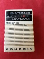 RADIO GRUNDIG Micro Boy 300 Vintage 70er Retro selten Pocket Radio Walkman Top