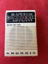 RADIO GRUNDIG Micro Boy 300 Vintage 70er Retro selten Pocket Radio Walkman Top