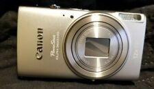Canon PowerShot ELPH 360 Digital Camera Wi-Fi & NFC Enabled (Silver)