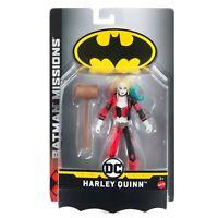 Harley Quinn - Batman Missions Action Figure Mattel DC Comic NEW SEALED