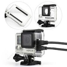 Side Open Skeleton Housing Case w/ Standard Waterproof Backdoor for GoPro Hero 4