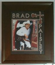 Brad Paisley Autographed Signed 8x10 Framed 10x16 PSA DNA