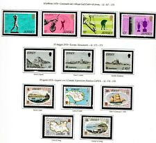 s35008 JERSEY 1978 MNH Complete year set Annata completa 2 scans