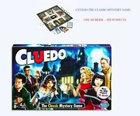 Cluedo The Classic Mystery Board Game - ONE Murder .. SiX Suspects ~ UK STOCK