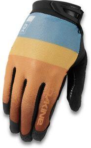 Dakine Aura Cycling Bike Gloves Women's Medium Desert Sun Orange / Gray New