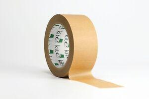 Strong Self Adhesive Brown Kraft Paper Tape 48mm x 50m Packaging Framing