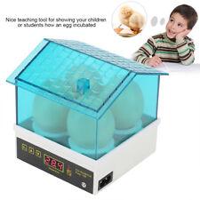 4 Digital Egg Incubator Hatcher Mini Egg Brooder Hatching Machine US Plug BH