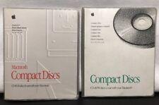 Apple Macintosh Performa Compact Dischi 2x Vinile Custodia OS Sistema Software