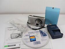 Canon PowerShot Digital ELPH SD1400 14.1MP Digital Camera - Silver - Bundle