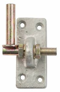 NEW! Adjustable Hook on Plate Gate Shed Door Hinge 13mm Pin Brass & Silver NEW!