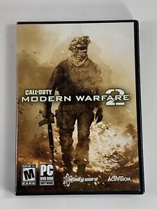 Call Of Duty Modern Warfare 2 PC Game 2 Disc DVD-ROM Infinity Ward Activision