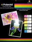 High Quality Photo Paper POLAROID Premium Gloss 8.5x11 (8) Sheets Print Picture