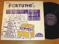 """DOO-WOP GROUP LP - VARIOUS ARTISTS - FORTUNE 8011 - """"TREASURE CHEST OF MUSTY..."""""""
