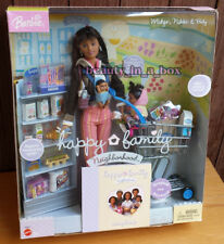 Happy Family Neighborhood Hometown Fair Gift Set Barbie Doll African American AA