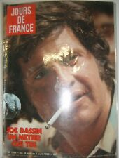 Jours de France N° 1339 30 août 1980 Joe Dassin Pologne grève de Gdansk Mode