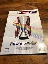 BRISTOL ROVERS V DONCASTER 2007 JOHNSTONES PAINT CUP FINAL PROGRAMME FREE POST