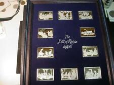 The Bill of Rights Silver (10) 1 Ozt Ingots Proof In Framed Display Scarce Set.