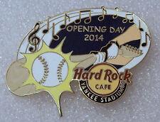 DEREK JETER FINAL YANKEE STADIUM NY OPENING DAY HARD ROCK CAFE PIN '14 HRC BADGE