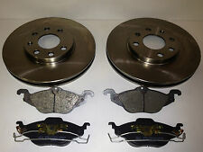 VAUXHALL ASTRA G MK4 1998-2004 FRONT BRAKE DISCS AND PADS 4STUD 1.4 1.6 1.7