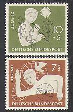 Germany 1956 Youth Hostel Fund/Dove/Music/Birds/Nature/Welfare 2v set (n37077)